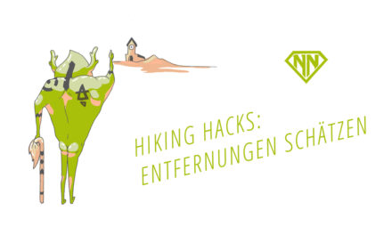 Hiking Hacks: Entfernungen schätzen mit dem Daumensprung