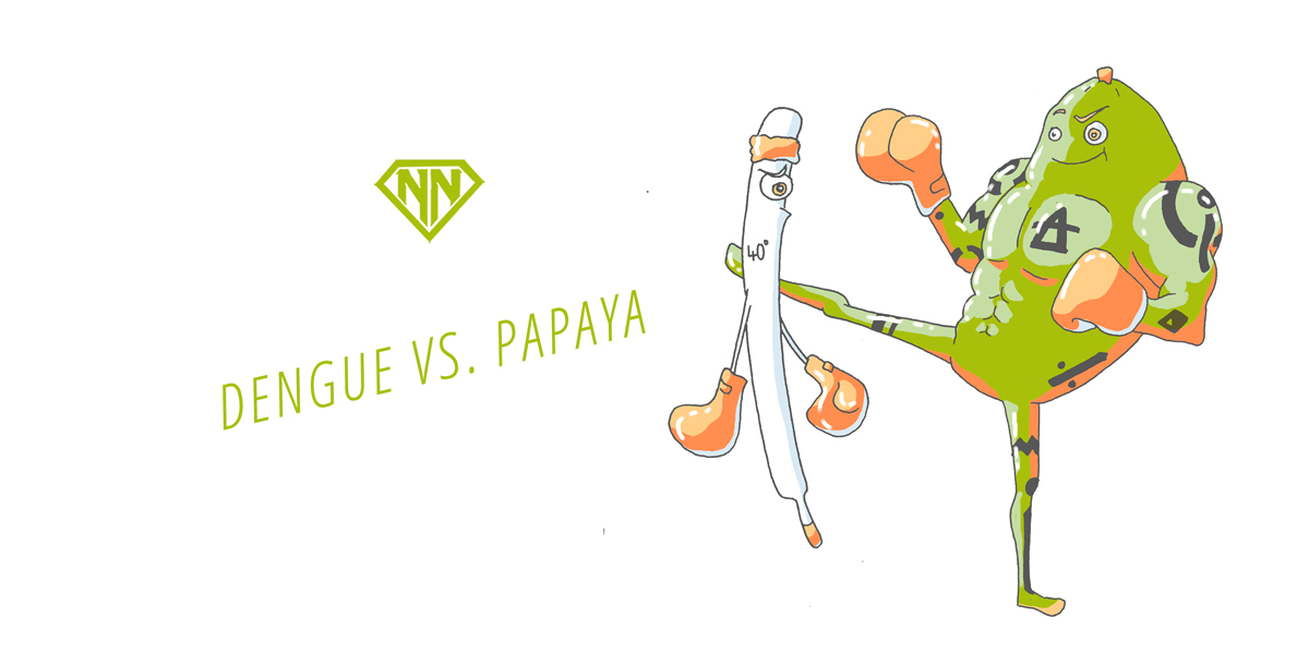 Dengue Fieber vs. Papaya Power