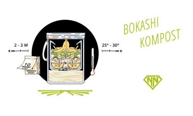 Der Bokashi Kompost – Wertvolle Nährstoffe zurück in Boden