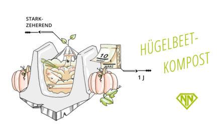 Der Hügelbeet-Kompost von Sepp Holzer